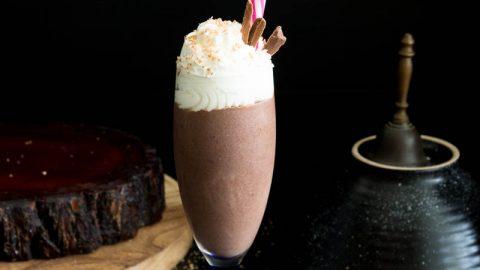 Homemade Hot Cocoa Eggnog - Christmas Chocolate Eggnog