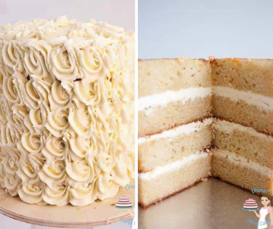 White Wedding On Youtube: Classic White Wedding Cake With IMBC (Bakery Style Wedding