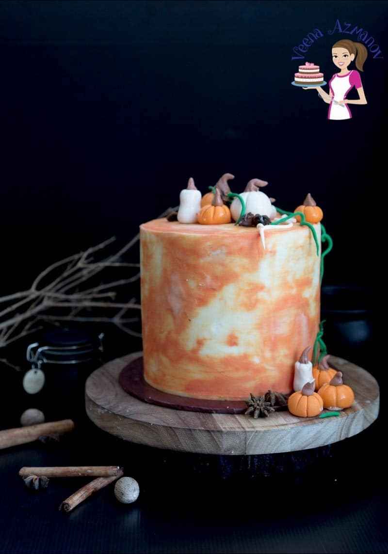 Pumpkin Cream Cake 7