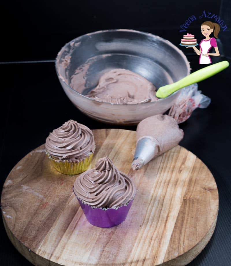 The BEST Bakery Style Chocolate Frosting Recipe in just 5 minutes