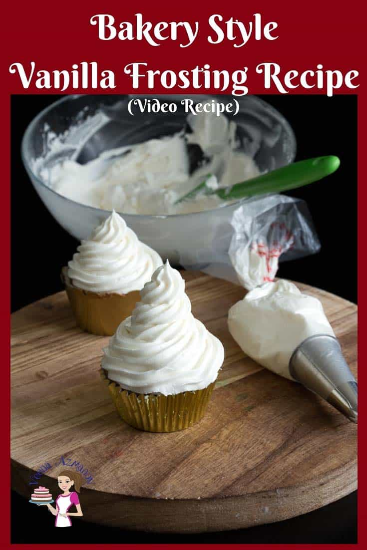 The BEST Bakery Style Vanilla Frosting Recipe in just 5 minutes