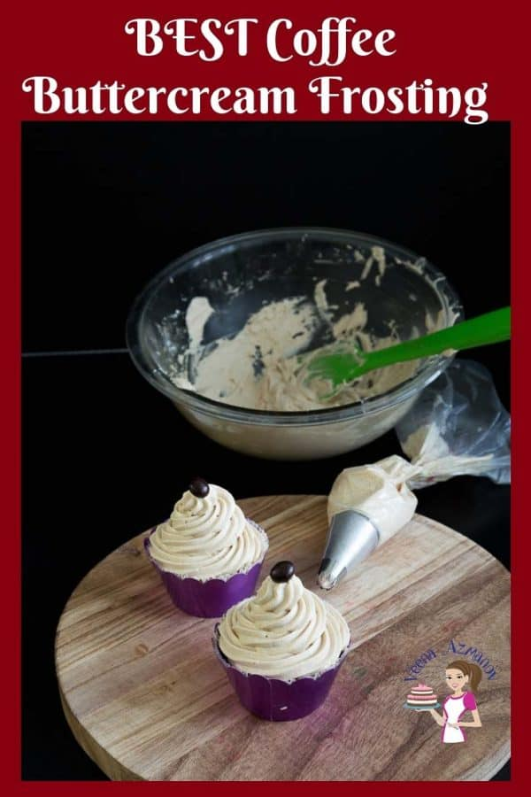 Here is the Ultimate Coffee Buttercream Frosting that needs only 4 ingredients and 5 minutes to prepare.