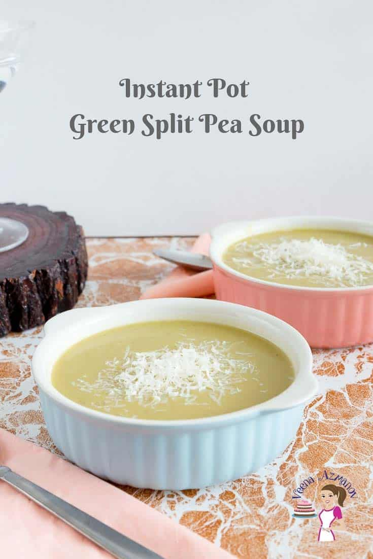 Make a scrumptious wholesome healthy and nutritious split pea soup in an Instant Pot or Pressure Cooker