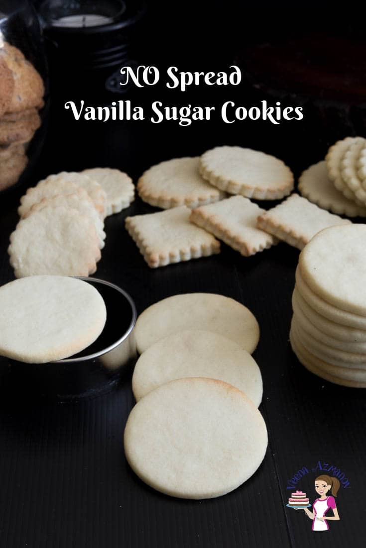 This is the best sugar cookie recipe, a no-spread sugar cookie recipe that takes soft, chewy with a shortbread-like texture.