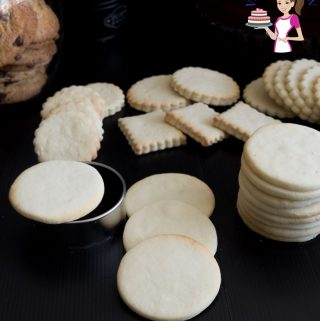 This is the best sugar cookie recipe, a no-spread sugar cookie recipe that takes soft, chewy with a shortbread like texture.