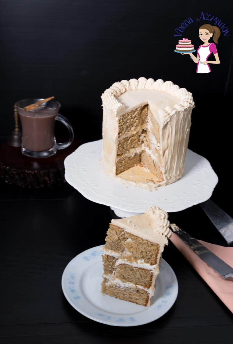 This cafe latte cake with coffee buttercream is a vanilla butter-based cake with cafe latte for flavor. Best Coffee Layer Cake Recipe