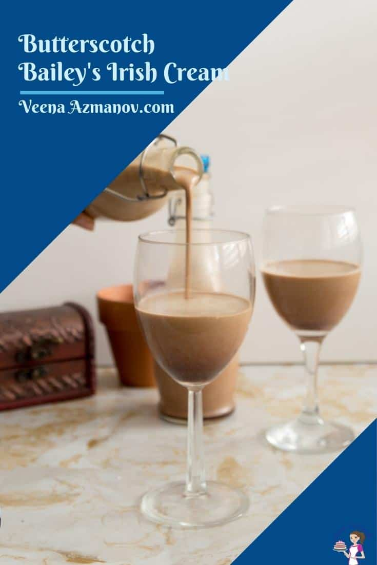 Pinterest image for Irish cream