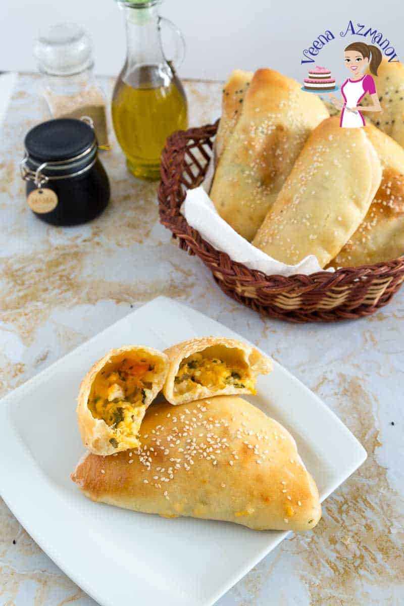 Use the basic Pita bread recipe to make these cheesy Pita Bread with this simple and easy homemade recipe.