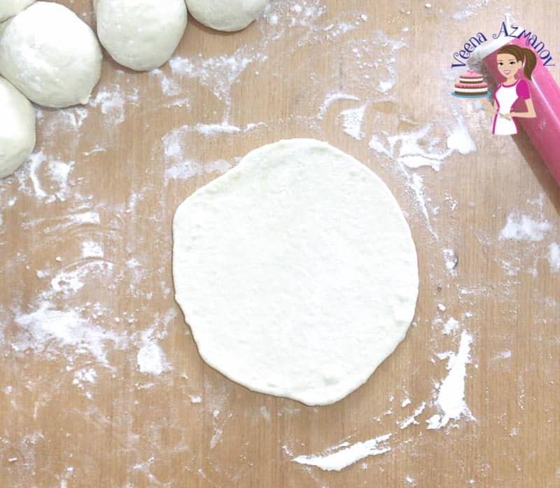 Use the basic Pita bread recipe to make these cheese-Stuffed Pita Bread with this simple and easy homemade recipe.