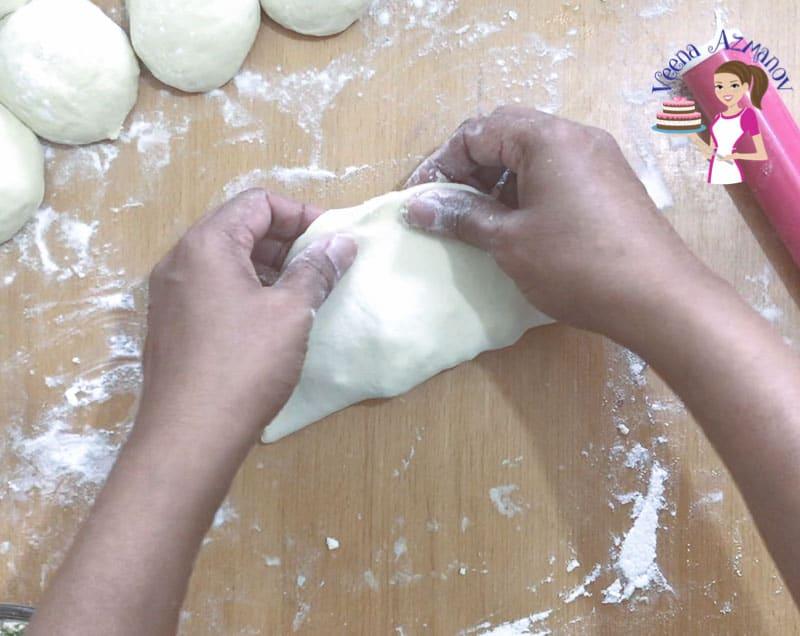 Use the basic Pita bread recipe to make these Stuffed Pita Bread with this simple and easy homemade recipe.