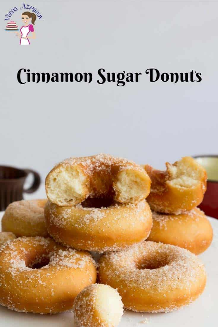 The best recipe for the ultimate Fried Cinnamon Sugar Doughnuts with a step by step video tutorial.