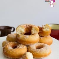 The best recipe for the ultimate Fried Cinnamon Sugar Donuts with a step by step video tutorial.