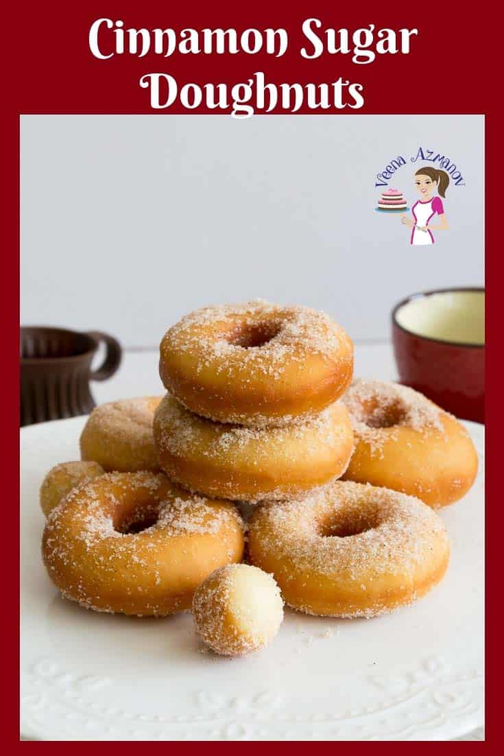 Learn to make the best homemade fried cinnamon sugar donuts with my no-fail doughnut recipe. Simple easy video recipe with step by step instructions #fried #cinnamon #sugar #donuts #doughnuts #best #deep via @Veenaazmanov