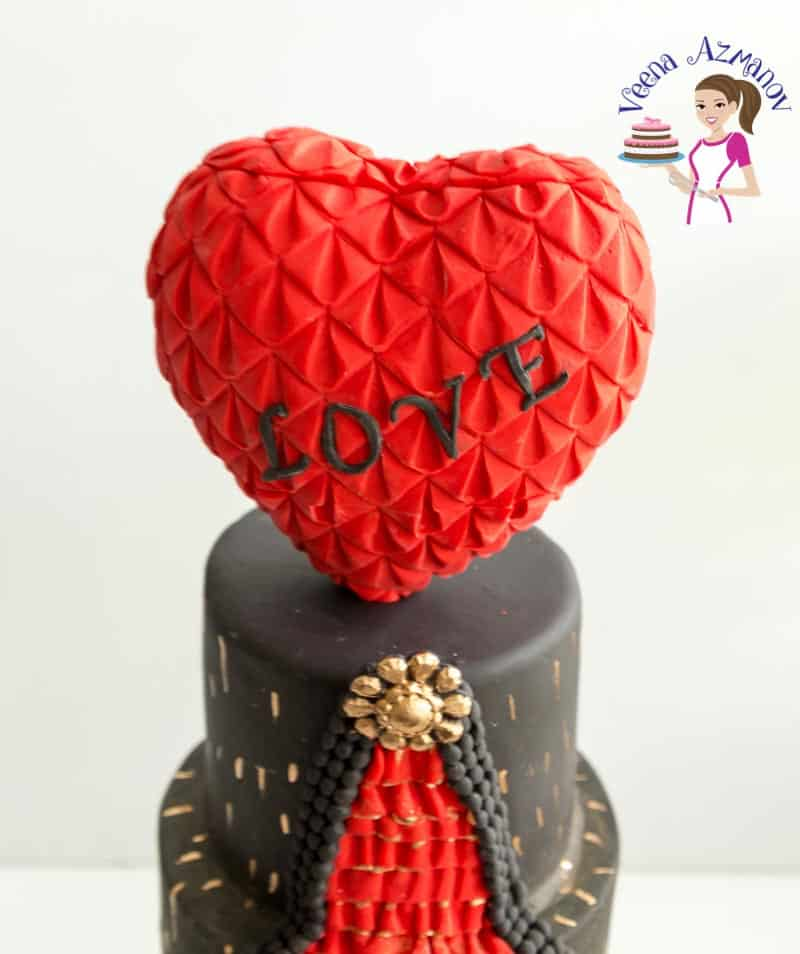 How to make fondant ruffles on cakes with Marvelous Molds Romantic Ruffles,