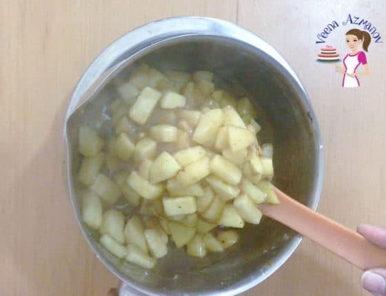 Progress Pictures - Hamantaschen Cookies - Prepare Apple Pie Filling