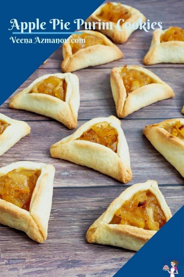 Pinterest image for cookies Hamantaschen