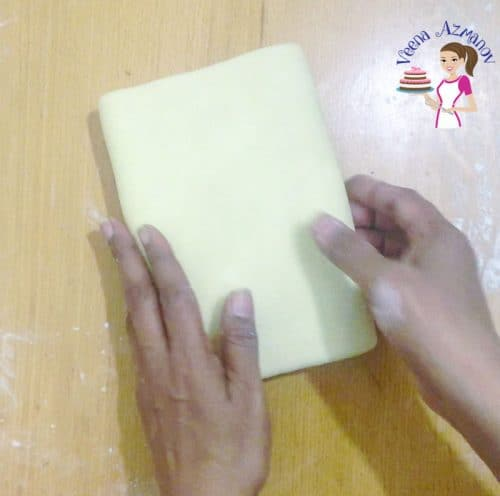 Progress pictures - Best Puff Pastry Recipe Folding the butter block six times - tours (turns)