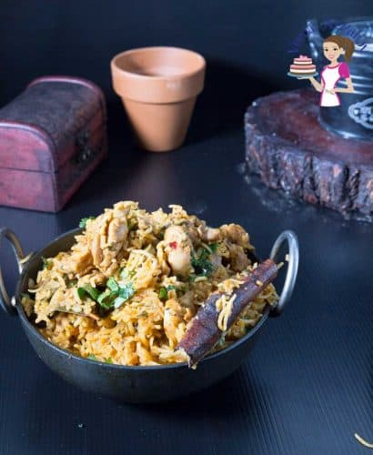Best Indian Biryani with chicken made in an Instant Pot or Pressure Cooker