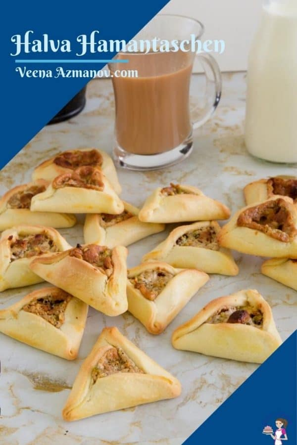 Pinterest image for oznei haman cookies