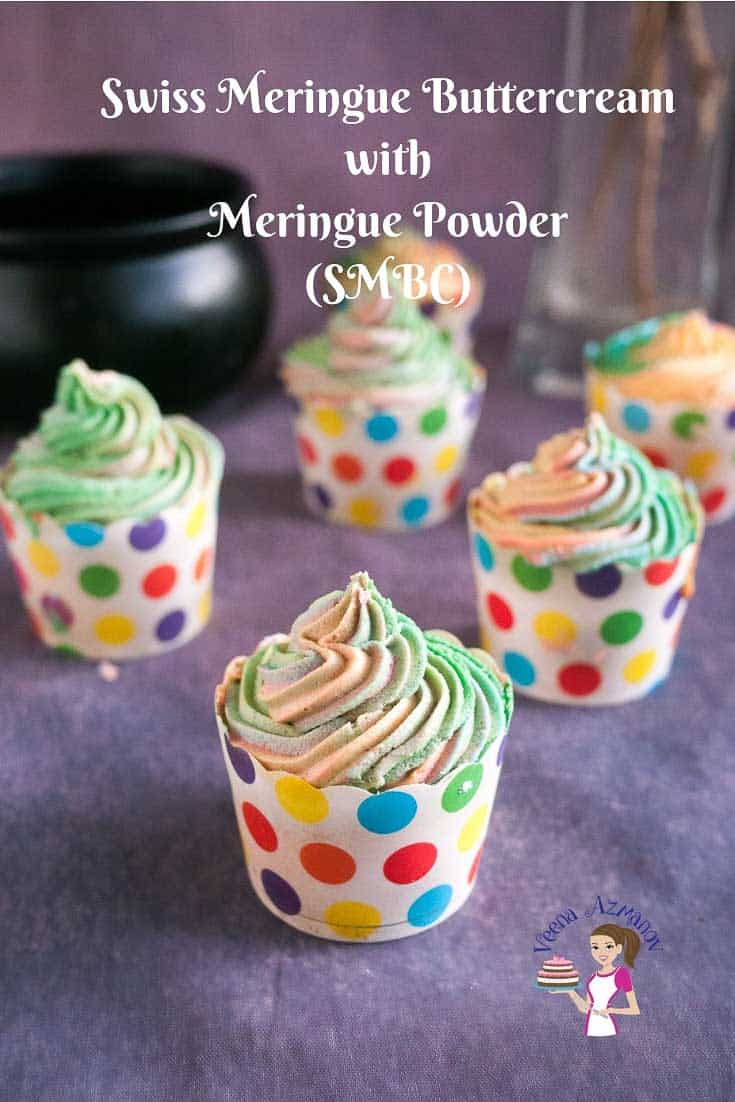 Learn to make the best Swiss Meringue Powder Buttercream Recipe (no thermometer required)