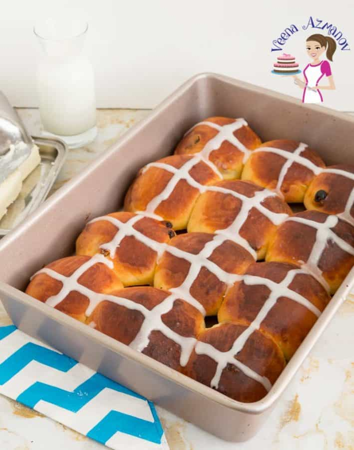 Make the best soft and fluffy hot cross rolls this Easter.