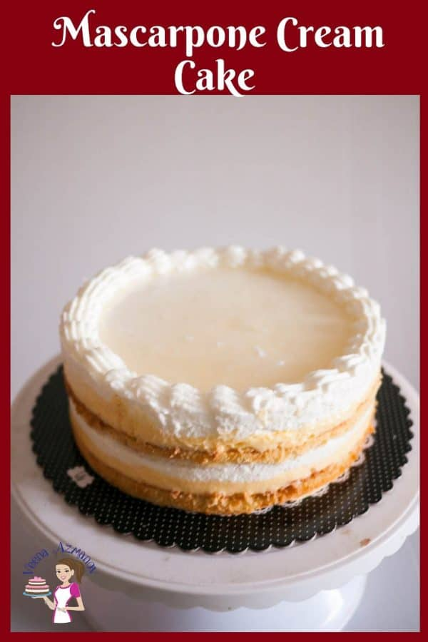 The perfect Entremet Dessert with Mascarpone Cream and Vanilla Pastry Cream