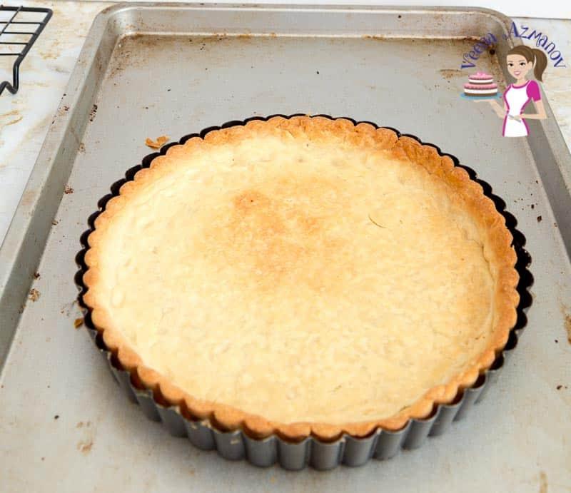 Rich Shortcrust Fresh Pastry called Pâte sablée - video tutorial