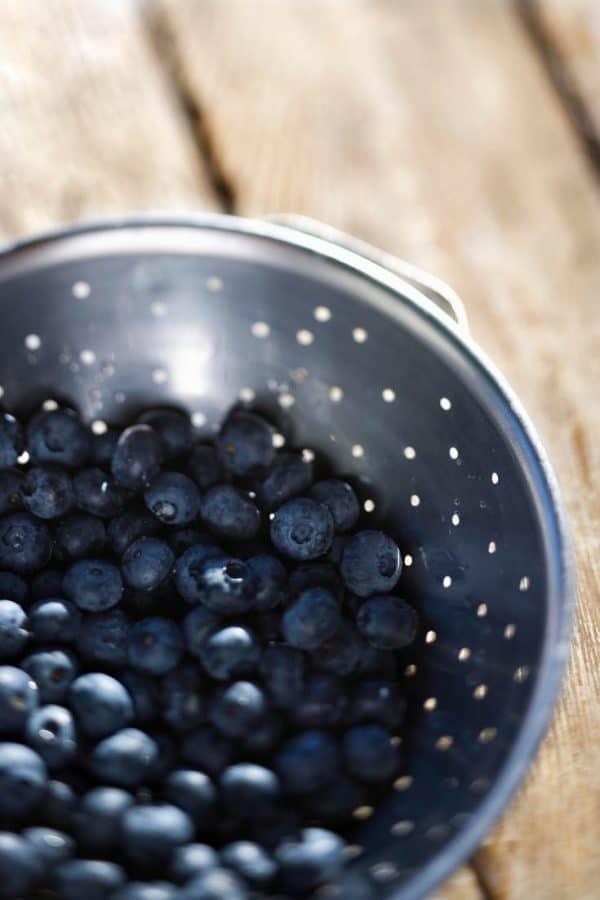 Blueberries, Jam, homemade, low sugar, no pectin, blueberry,