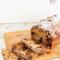 Moist Cake, Banana, Chocolate Chips, Coffee Cake