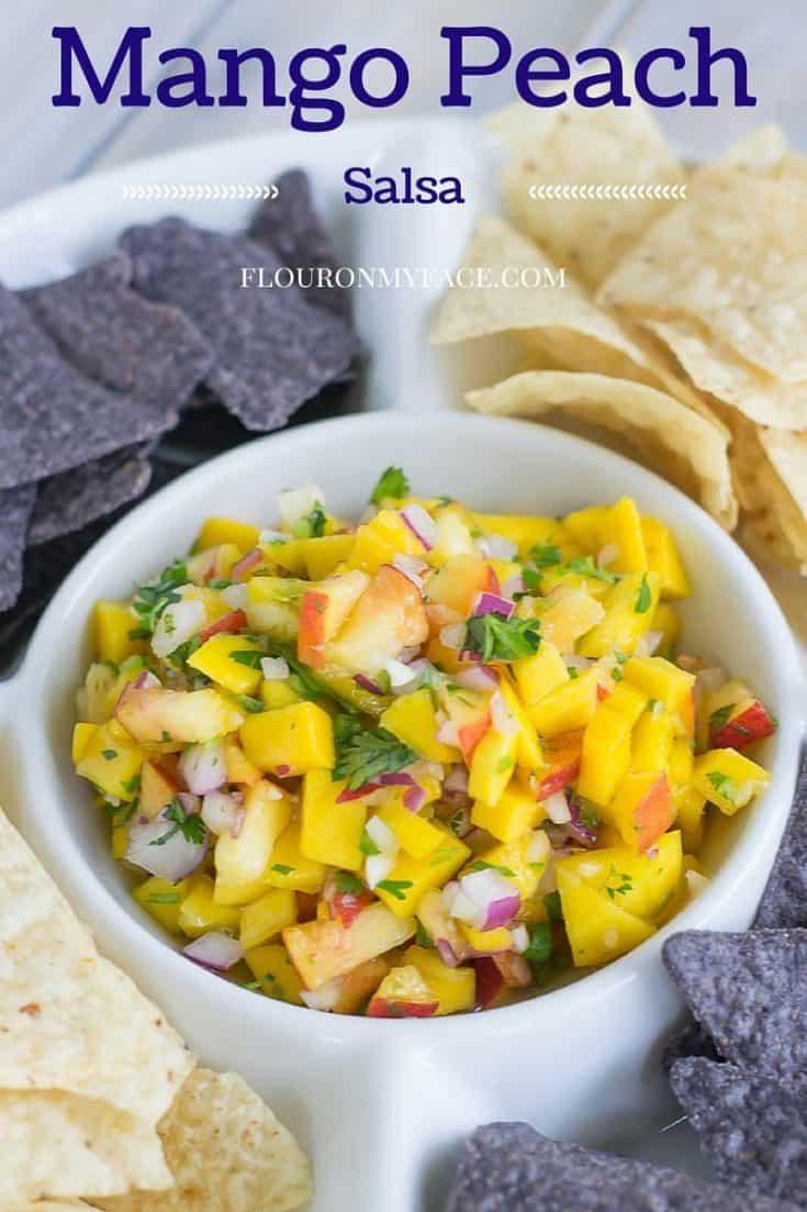 Fresh from Florida: Mango and Peach Salsa