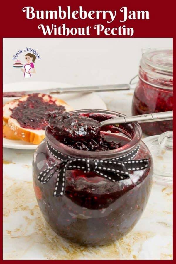 No Pectin Jam, raspberry, blueberry, blackberry, strawberry, mixed berries, bumble berry