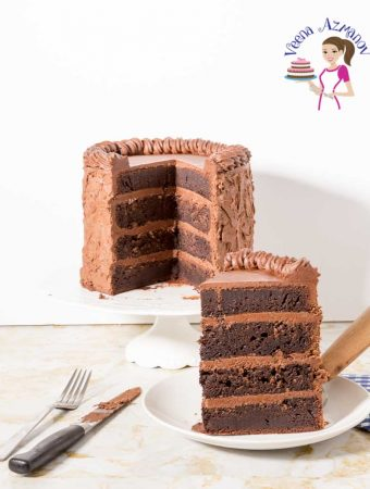 Cake, Moist, Chocolate, Ganache, Fudge, Mud Cake