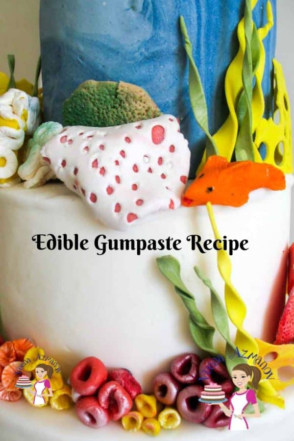 Gumpaste recipe from scratch
