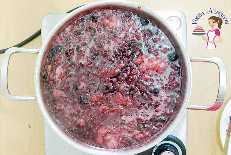 No Pectin Jam, raspberry, blueberry, blackberry, strawberry, mixed berries, bumble berry
