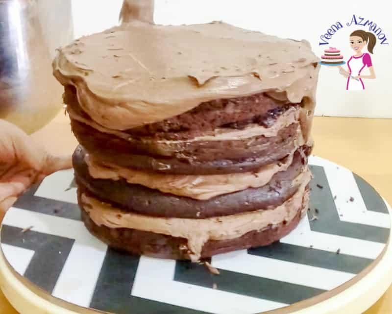 Cake, Moist, Chocolate, Ganache, Fudge, Mud Cake