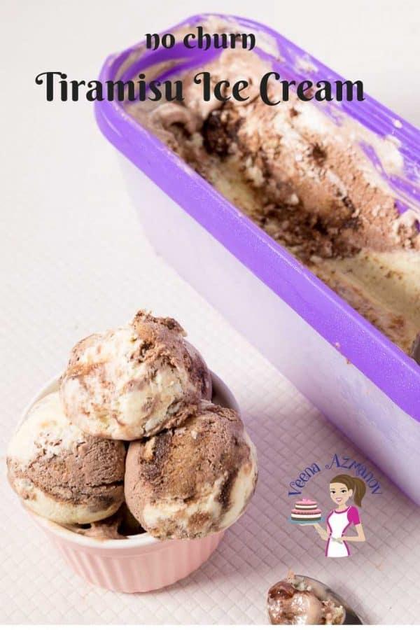 Homemade, ice cream, no=churn, Tiramisu, 10 minutes