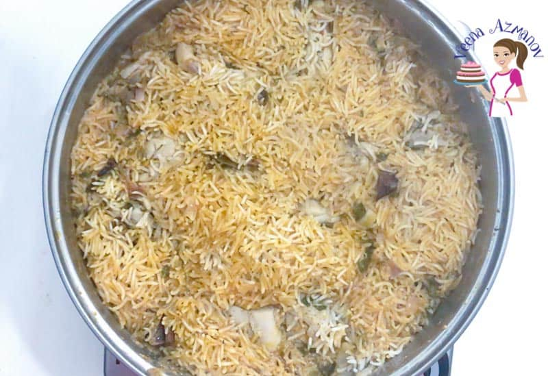 Quick One-Pot Chicken Biryani Progress Pictures1