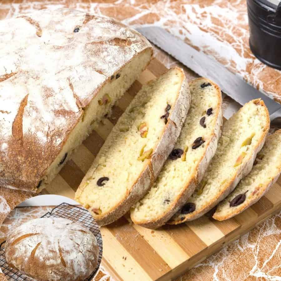 How to make a no knead beer bread with yeast
