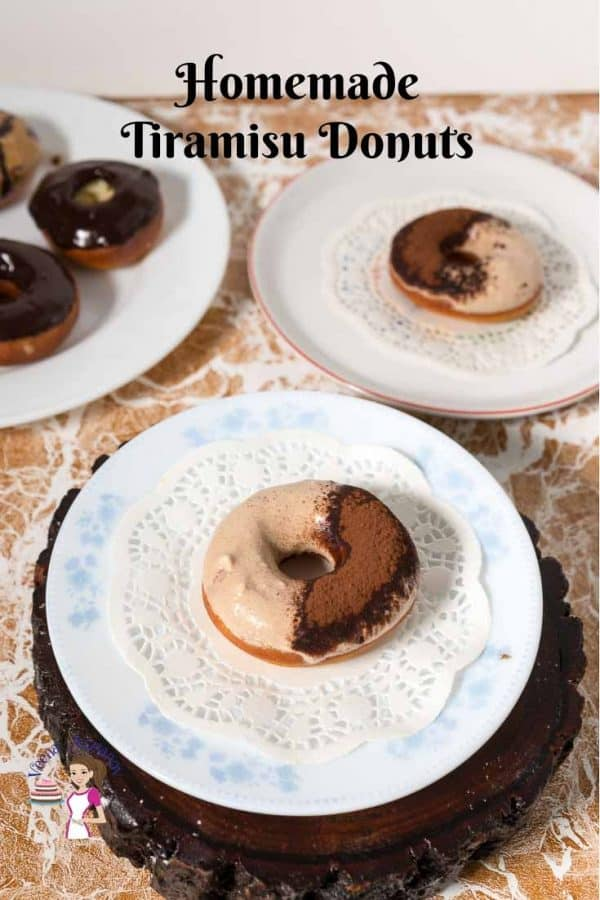 How to Make the Perfect Homemade Deep Fried Donuts with Progress Pictures and a Tiramisu Glaze.