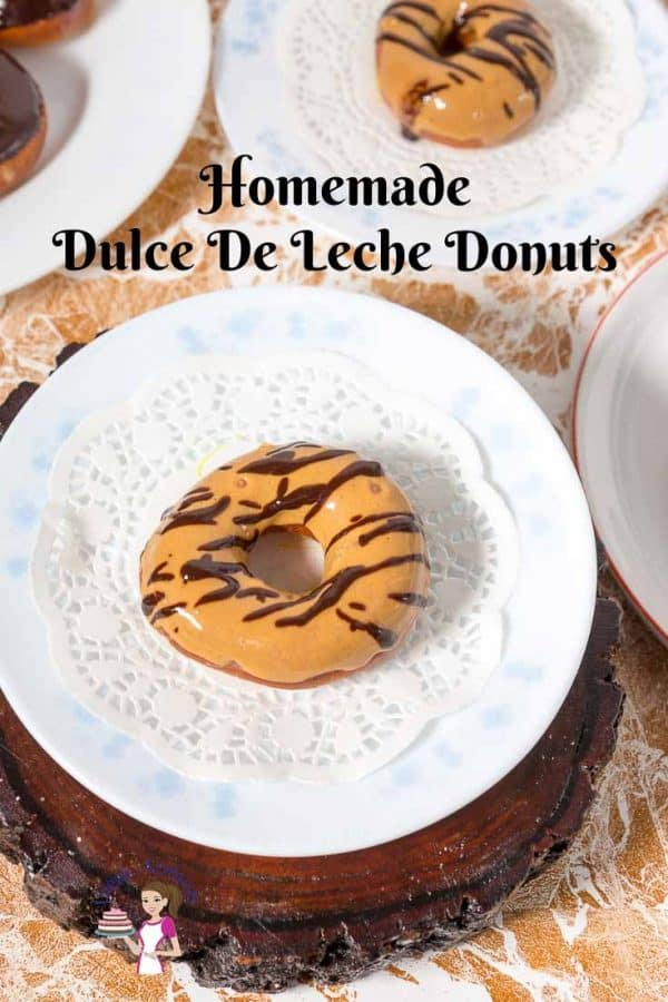 Homemade Deep Fried Donuts with a glaze made of Dulce De Leche with Progress Pictures and video recipe