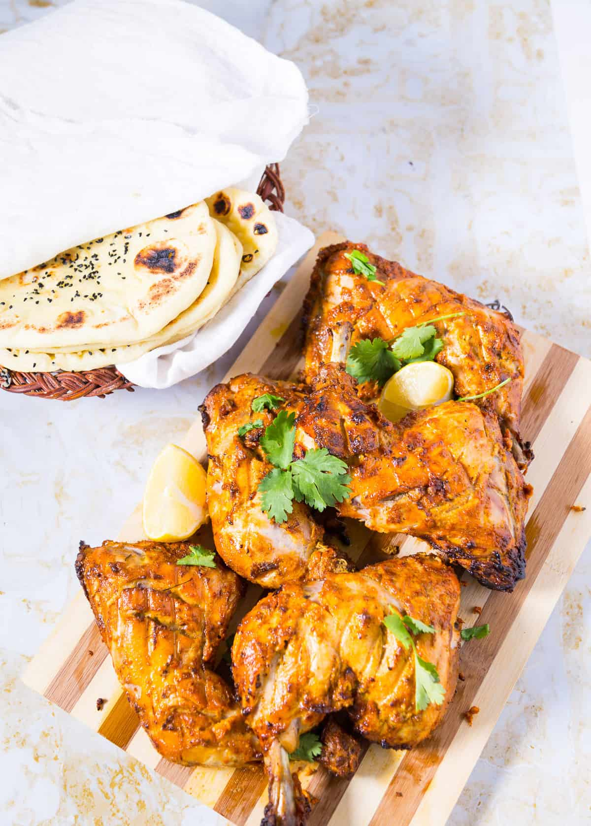 Oven Baked Tandoori Chicken Recipe, Best Tandoori Chicken Recipe