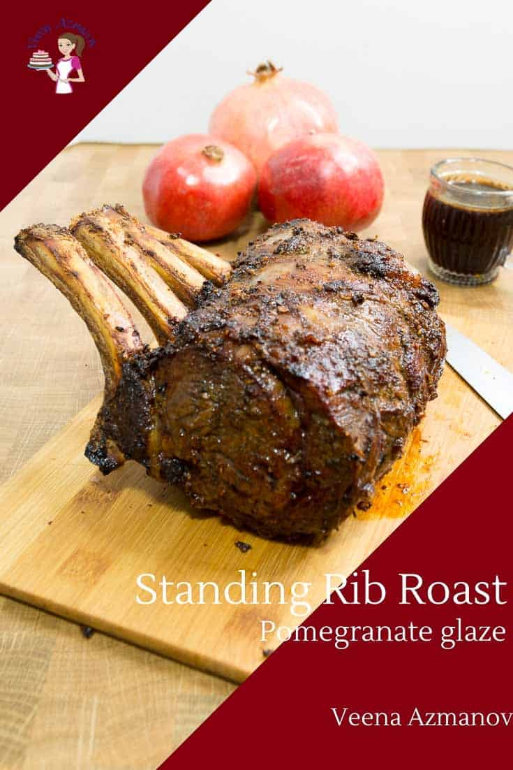 Learn to make the best standing rib with this recipe for prime rib roasted in the oven