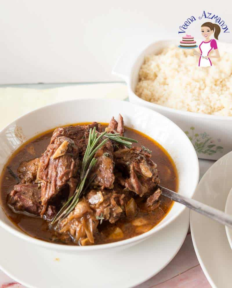 How to cook lamb in a crock pot or slow cooker until fork tender