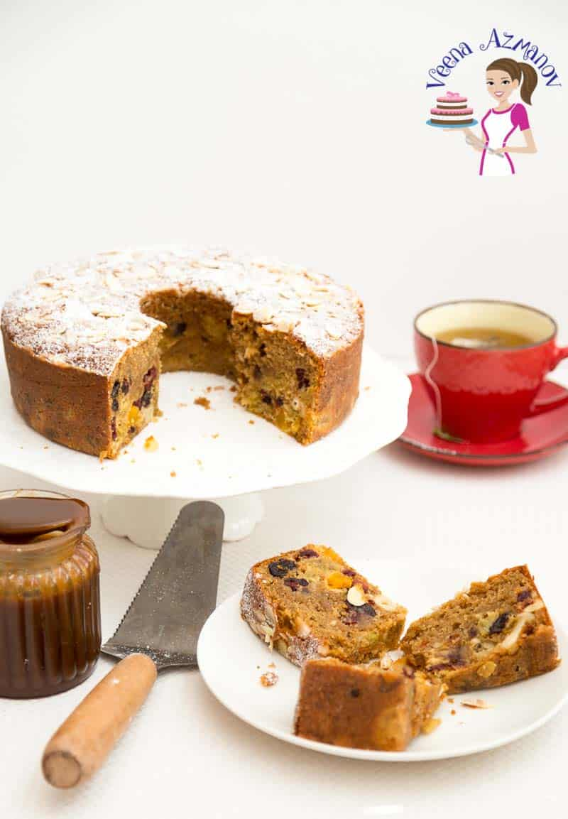 The best recipe for Christmas Fruitcake with Butterscotch flavor