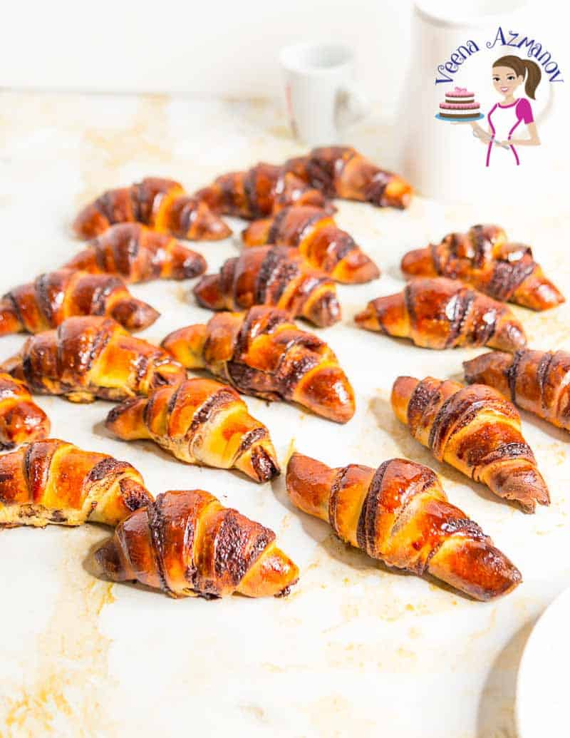 How to Make a Perfect Jewish pastry called Rugelach with chocolate in this step by step tutorial