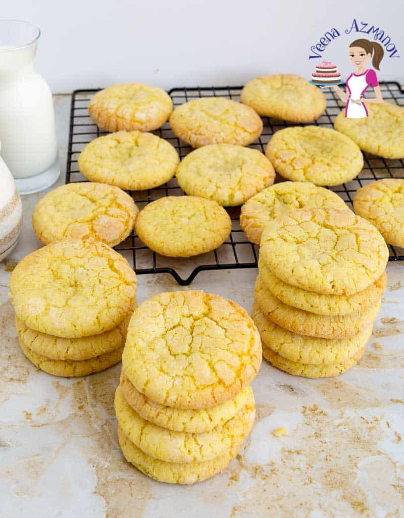 Learn to make the perfect Lemon Cookie with the Crinkle Effect.