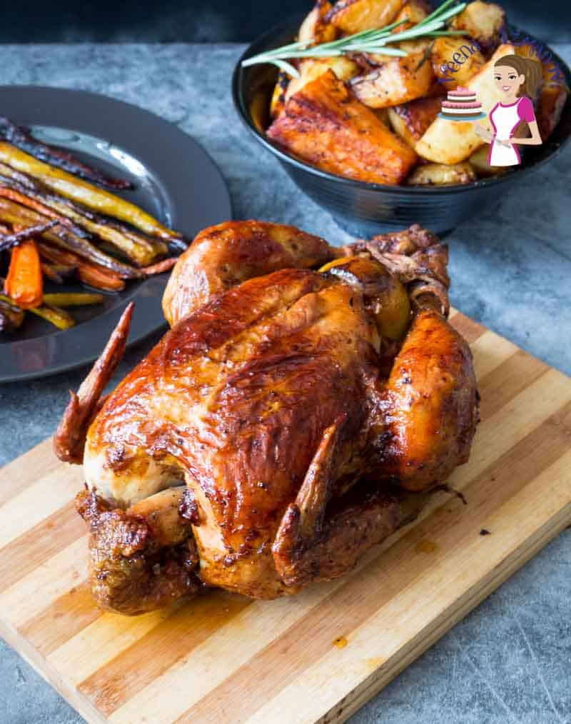 Learn to Roast a Chicken perfectly every single time with this tutorials