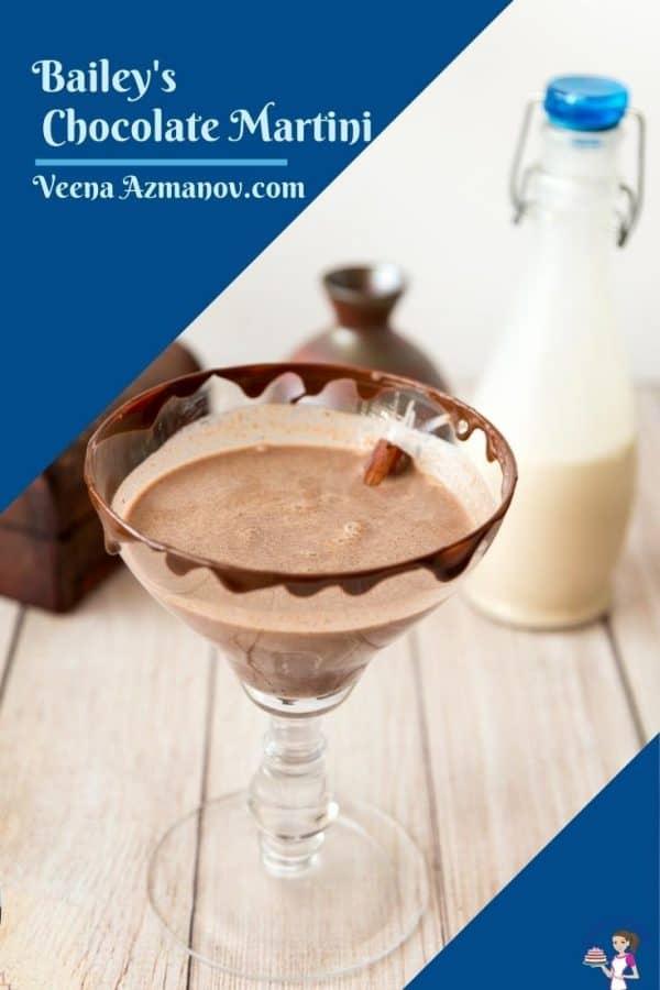 Pinterest image for martini