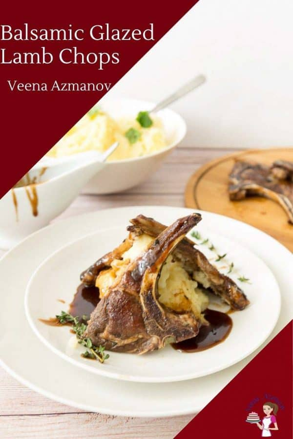 How to make the Perfect chops of Lamb with Balsamic glaze