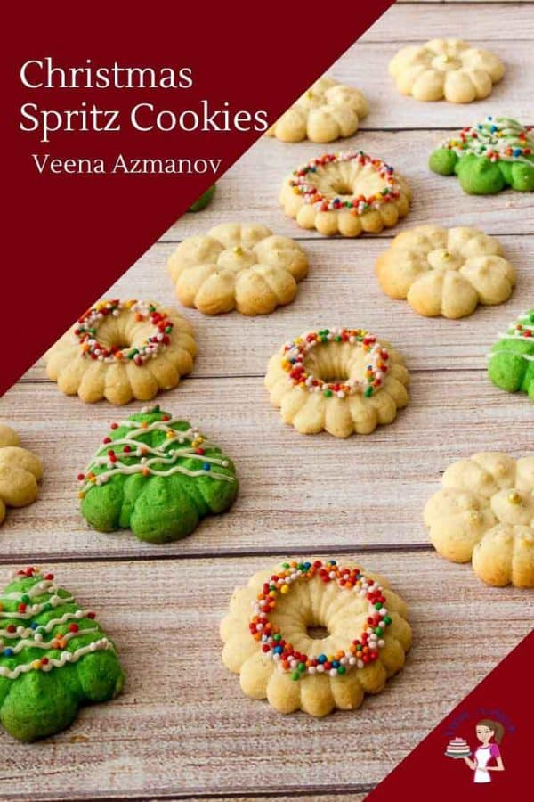 Christmas Spritz Cookies Step by Step Progress Pictures14